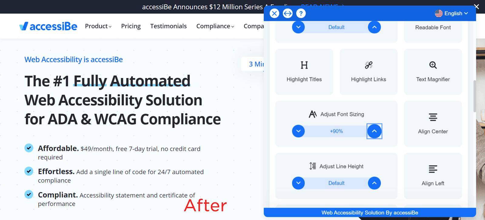 Adjust Font Sizing 2