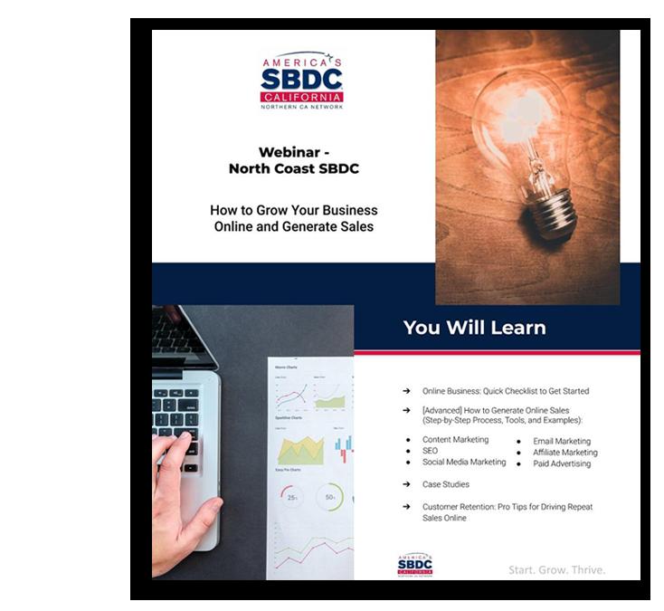 SBDC consultant
