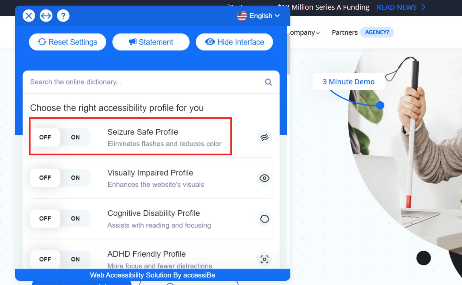 accessiBe Profiles
