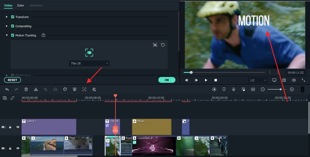Motion Tracking 1