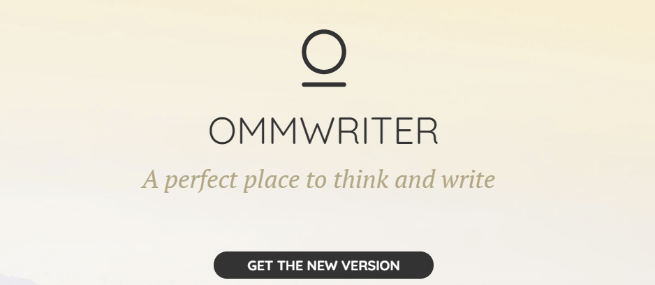 Ommwriter Best Writing Tool