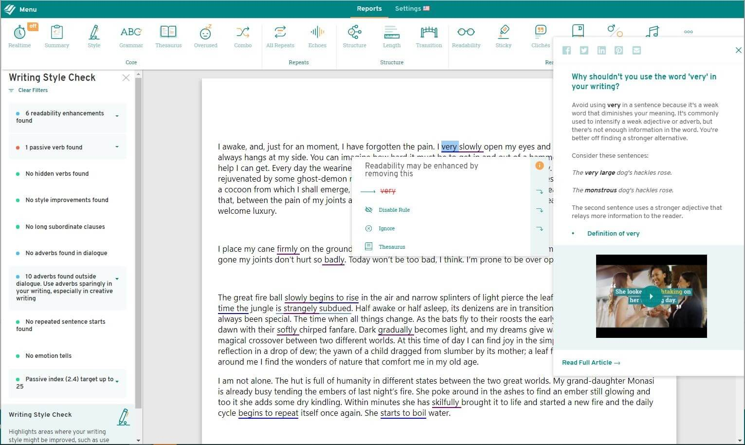 ProWritingAid Best Writing Tool