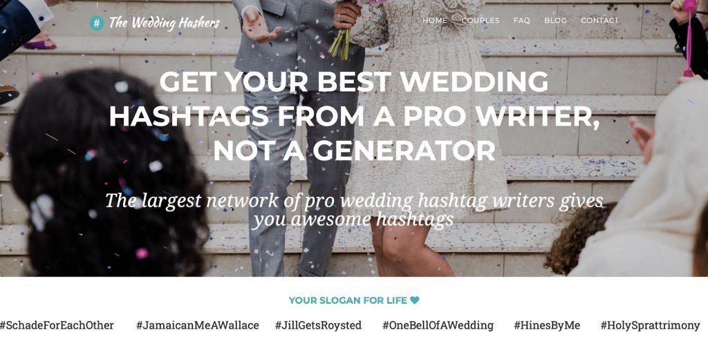 The Wedding Hashers