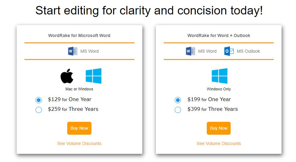 WordRake Best Writing Tool
