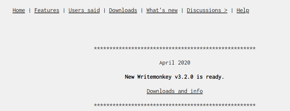 WriteMonkey Best Writing Tool