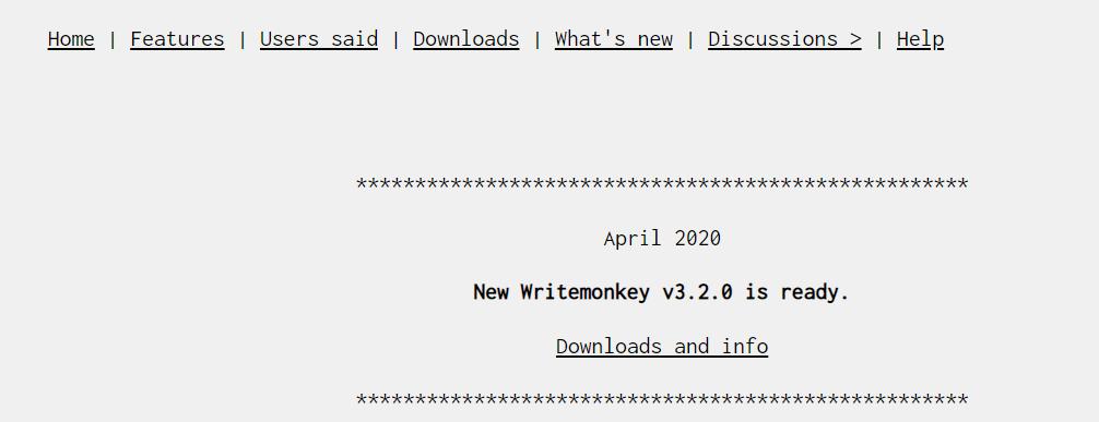 WriteMonkey Best Writing Tool
