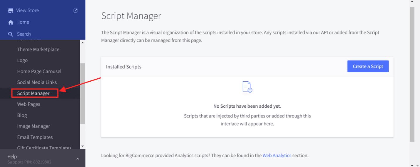 Script Manager