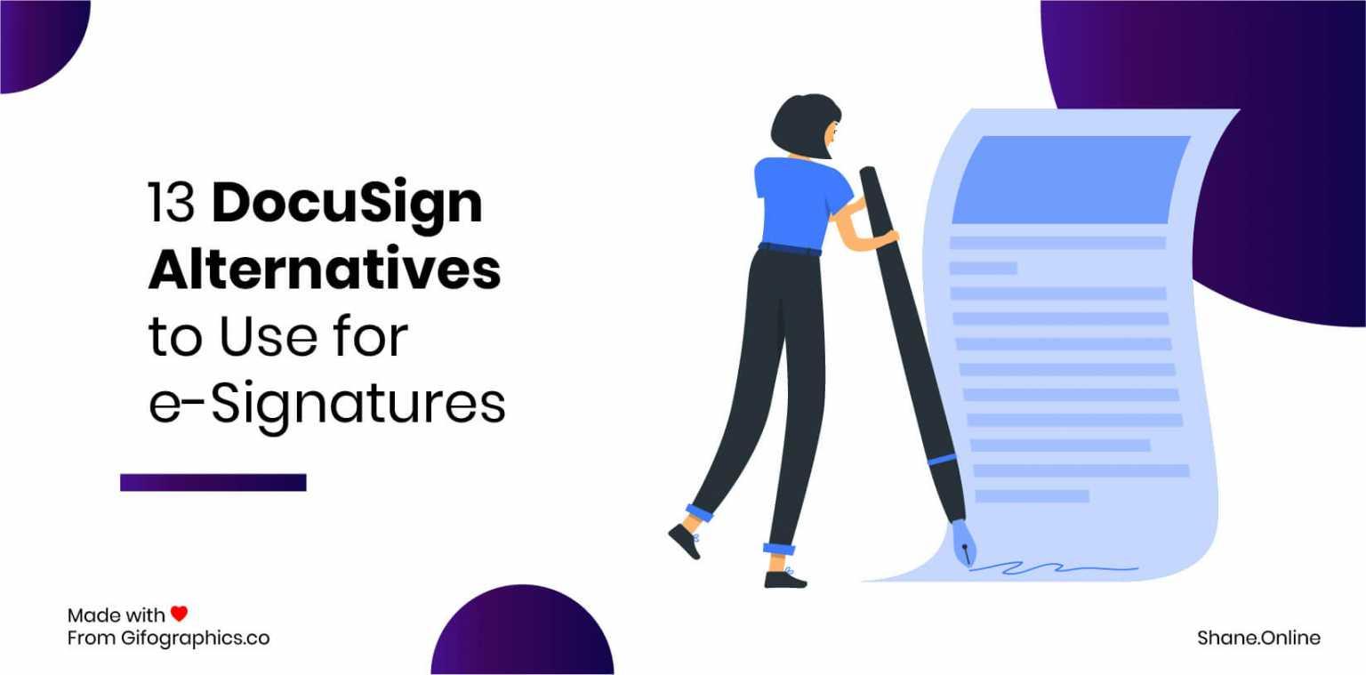 13 DocuSign Alternatives to Use for e-Signatures