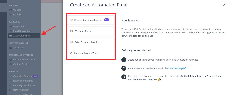 Adroll Email Marketing 2