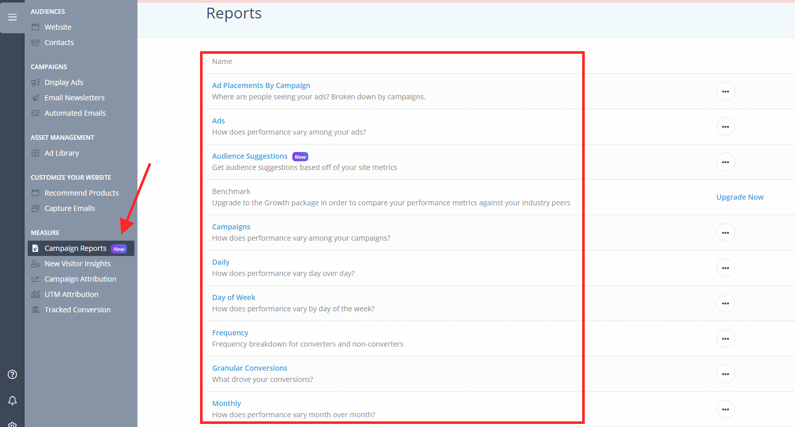 Adroll Reports