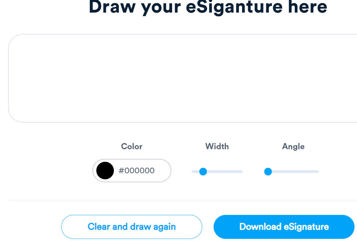 Signaturely Draw Custom Signatures