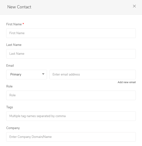 EngageBay Contacts 3