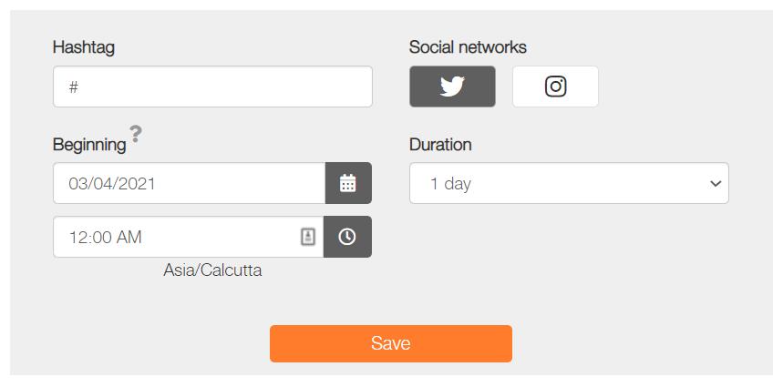 Metricool Hashtag Tracking