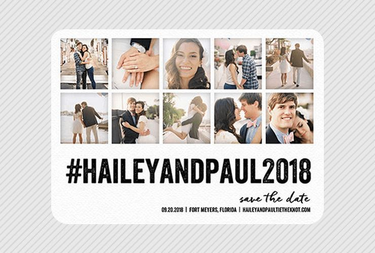 Save-the-Date Cards and Posts