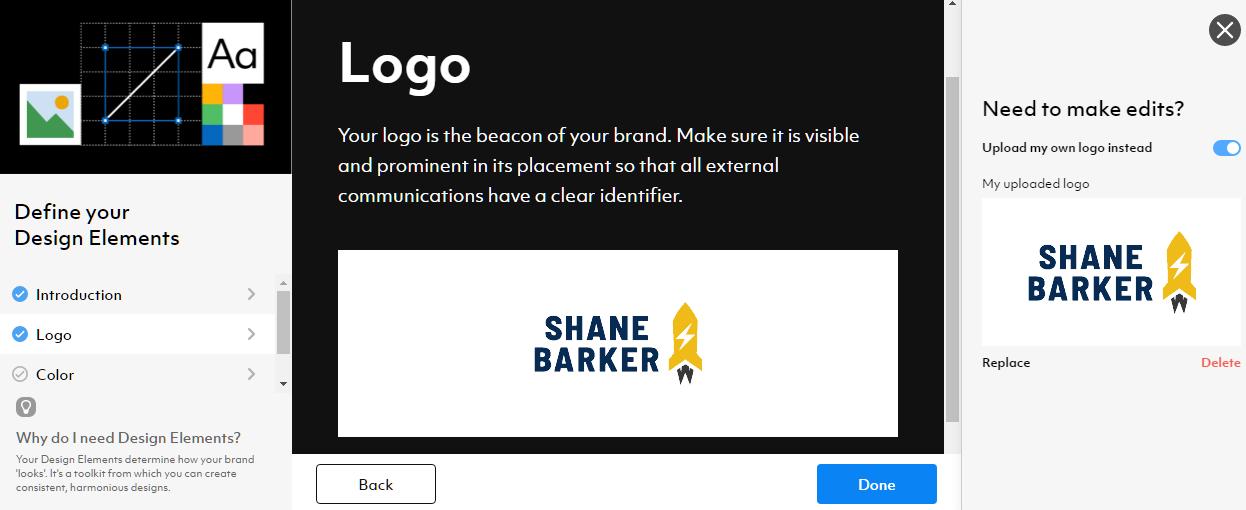 current brand logo