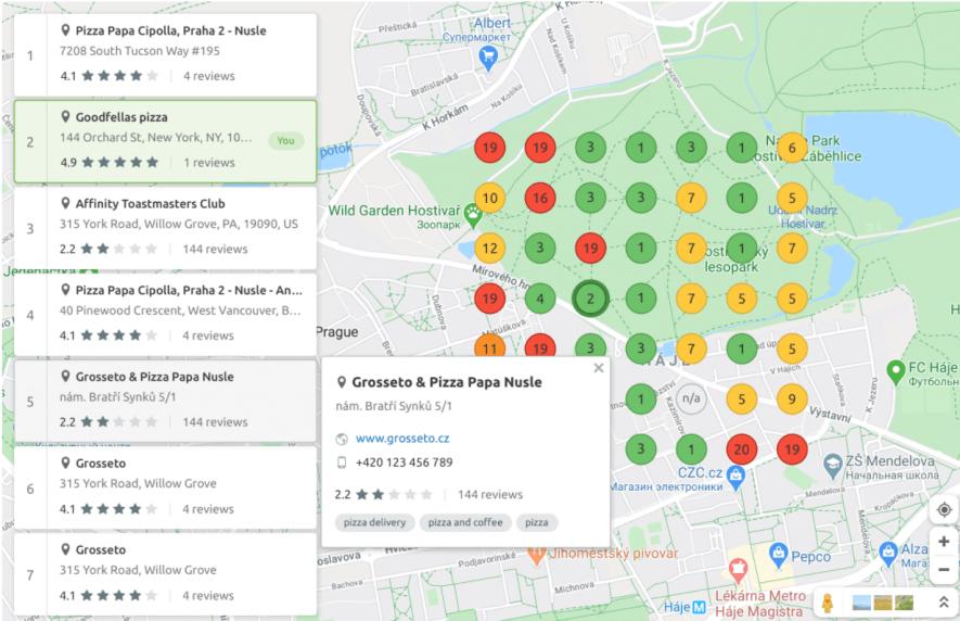 Local Rankings Report