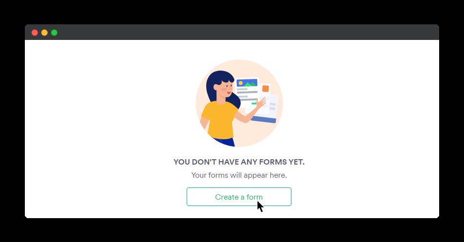 JotForm Create Form