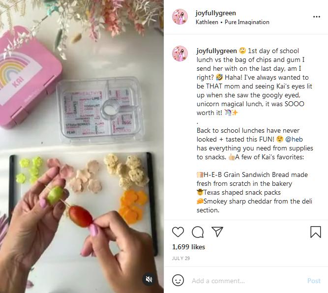 Instagram influencer, Joy Green