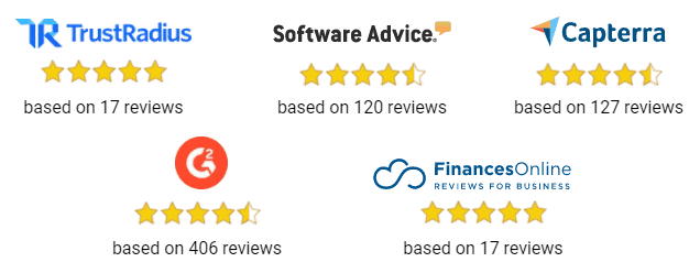 Serpstat 4.5 star ratings on all major tool review platforms
