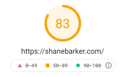 google page insights shanebarker